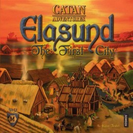 Catan Adventures - Elasund The First City (Board Game)