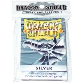 YGO Sleeves : Silver (Classic)
