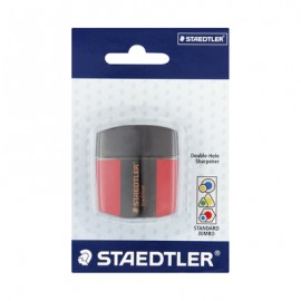 Sharpener Double hole with lid container