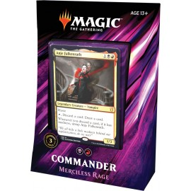 Magic the Gathering Commander 2019 Merciless Rage