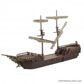 Dungeons & Dragons Icons of the Realms: The Falling Star Sailing Ship