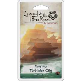 Legend of the Five Rings The Card Game - Into the Forbidden City (Card Game)