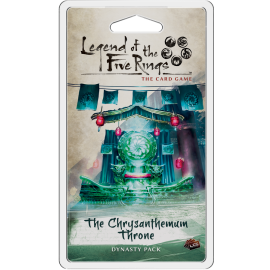 Legend of the Five Rings The Card Game - The Chrysanthemum Throne (Card Game)