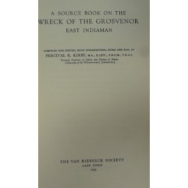 Source book on the wreck of the Grovenor