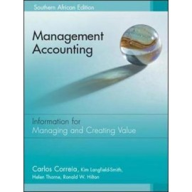 Management Accounting: South African Edition