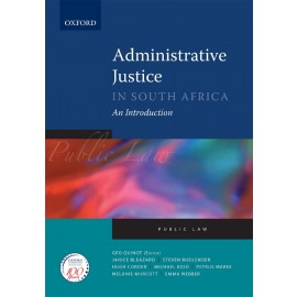 E-book Administrative Justice in South Africa: An Introduction