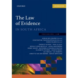 E-book The Law of Evidence in South Africa 2e