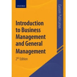 Introduction to Business Management & General Management (Custom Edition)