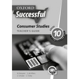 Oxford successful consumer studies CAPS: Gr 10: Teacher's guide