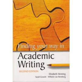 Finding your way in academic writing