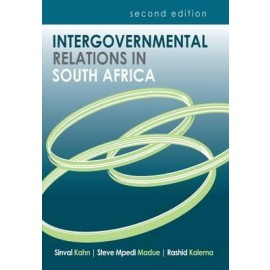 Intergovernmental Relations in South Africa. (9780627034060)