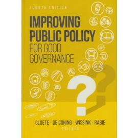 Improving public policy for good governance (9780627035135)