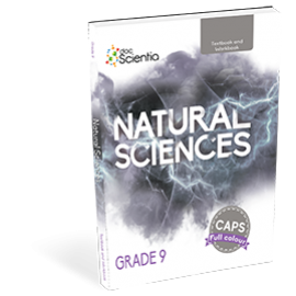 DocScientia Natural Sciences Grade 9 Textbook & Workbook (9780639500263)