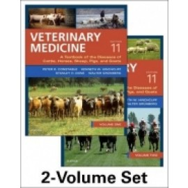 Veterinary Medicine: A Textbook Of The Diseases Of Cattle, Sheep, Pigs And Horses (9780702052460)