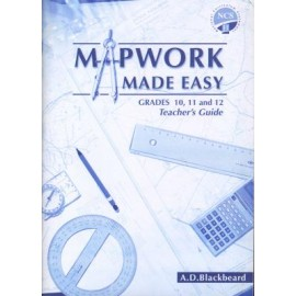 Mapwork made easy: Gr 10 - 12: Teacher's guide