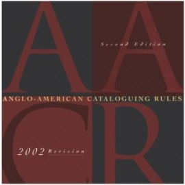 Anglo American cataloguing rules (AACR2R) (9780838935552)