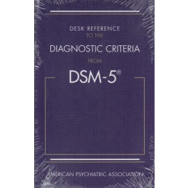 9780890425565 Desk Reference to the Diagnostic Criteria from DSM-5