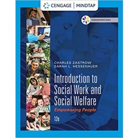 Empowerment Series: Introduction To Social Work And Soial Welfare:Empowering People (9781305388338)