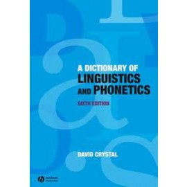 Second-hand A Dictionary of Linguistics and Phonetics (9781405152976.tu)