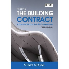Finsen's the building contract  (9781485119265)