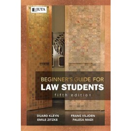 Beginner's guide for law students  (9781485128342)