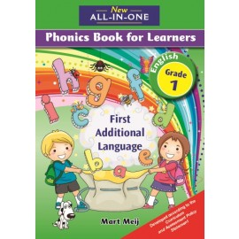 New All-In-One Grade 1 First Additional Language Phonics Book for Learners Learner's Book