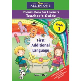 New All-In-One Grade 1 First Additional Language Phonics Book for Learners Teacher's Guide