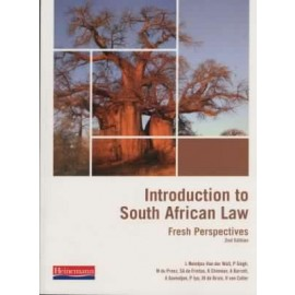 Introduction to South African Law 3rd Edition