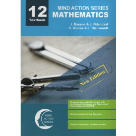 Mind Action Mathematics Textbook Gr 12 (New Edition) NCAPS (2019)