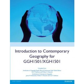 Introduction to contemporary Geography for GGH1501/XGH1501 (9781784484521)