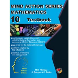 Mind Action Series Maths Grade 10 Textbook (Old Edition)