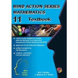 Mind Action Series Maths Gr 11 Learner Book CAPS (Old Edition)