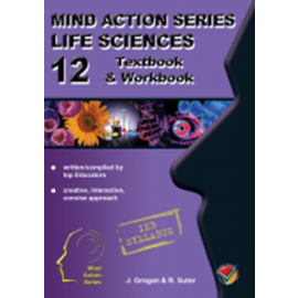 Mind Action Series Life Science Gr 12 Textbook & Workbook IEB (Old Edition)