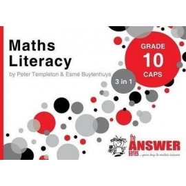 The Answer Series Gr 10 Maths Literacy '3 in 1'