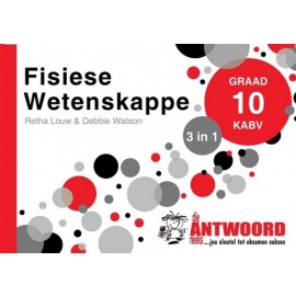 The Answer Series Gr 10 Fisiese Wetenskappe '3 in 1'