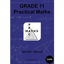 Practical maths CAPS: Gr 11: Practical study guides + memo's