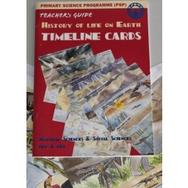 History of Life on Earth Timeline Cards & Teacher's Guide
