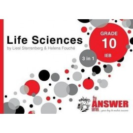 The Answer Series Gr 10 Life Sciences '3 in 1' IEB