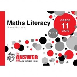 The Answer Series Gr 11 Maths Literacy '3 in 1'