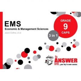 The Answer Series Gr 9 EMS '3 in 1' Book & Template book (SET)