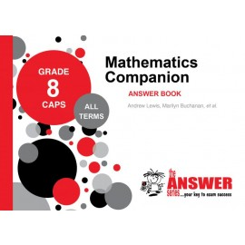 The Answer Series Gr 8 Maths Companion Workbooks 1 & 2 + Answer Book (set)