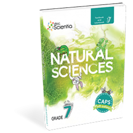 DocScientia Natural Sciences Grade 7 Textbook & Workbook (9781928504900)