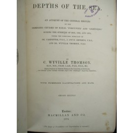The Depths of the Sea. An Account of the General Results of the Dredging Cruises of H.M.SS. 'Porcupine' and 'Lightling' During the Summers of1868, 1869, and 1870.