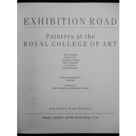 Exhibition Road. Painters at the Royal College of Art.