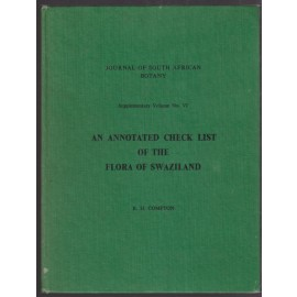An Annotated Checklist of the Flora of Swaziland. Journal of South African Botany: Supplementary Volume No. VI