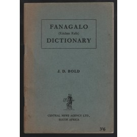 Fanagalo Dictionary